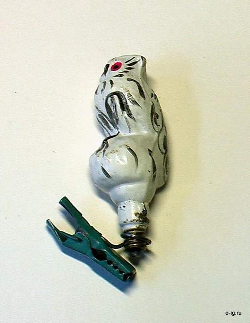 Сова-лампочка для гирлянды