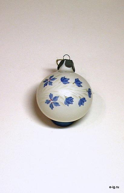 """Шар """"Синие цветы"""""""