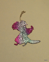 Лиса с петухом
