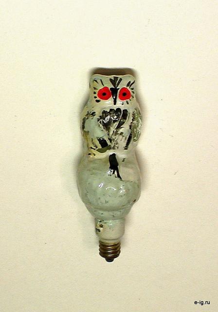 Сова-лампочка