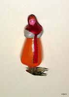 Девочка в сарафане